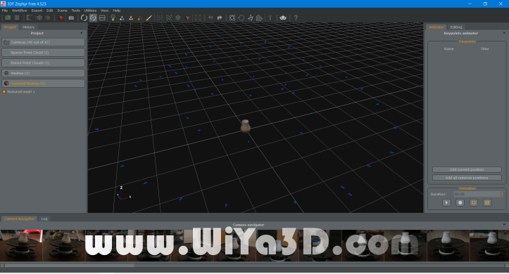 3DF Zypher Final Processed 3D Scan Data