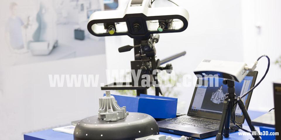 Structured Whght Blue Light 3D Scan