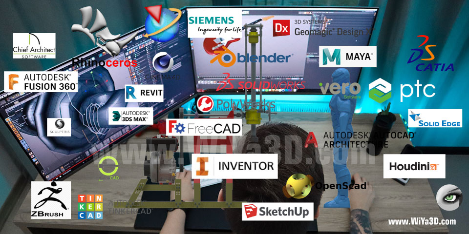 Top 3D Modeling CAD Software