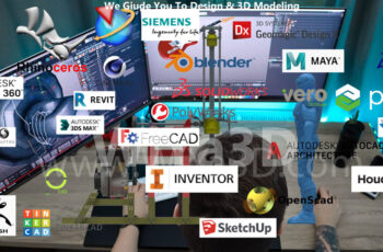 Top 3D Modeling and CAD Software