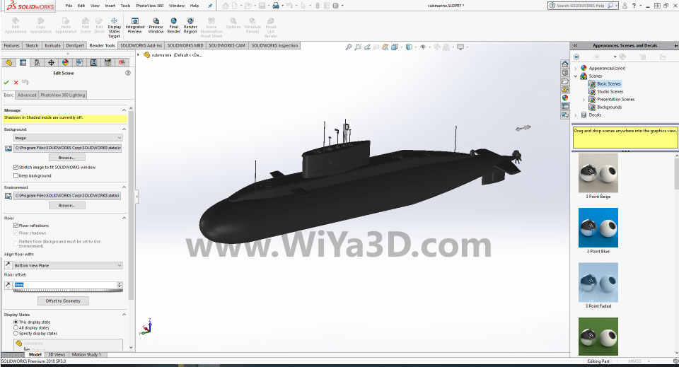 SolidWorks Photoview 360 S012