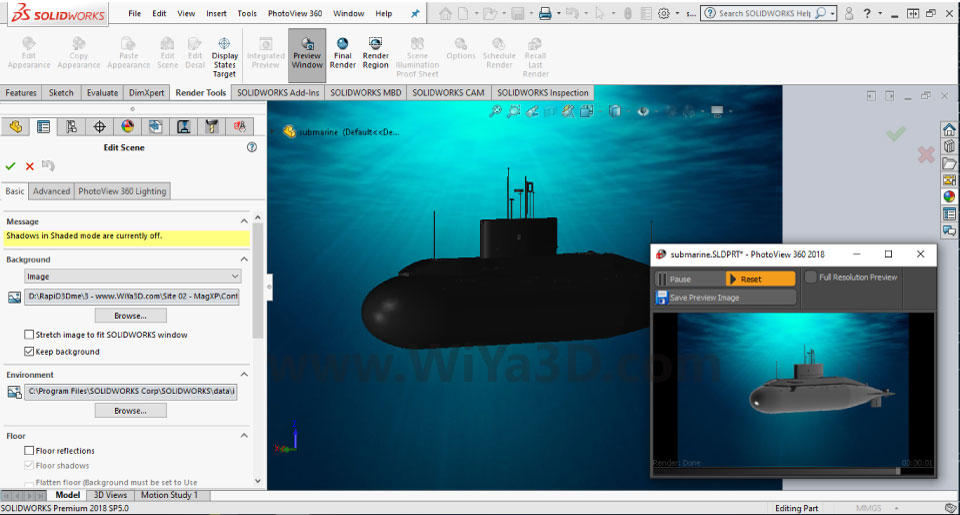SolidWorks Photoview 360 S014
