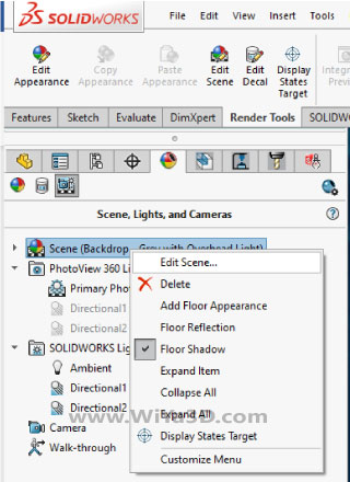 SolidWorks Photoview 360 S018