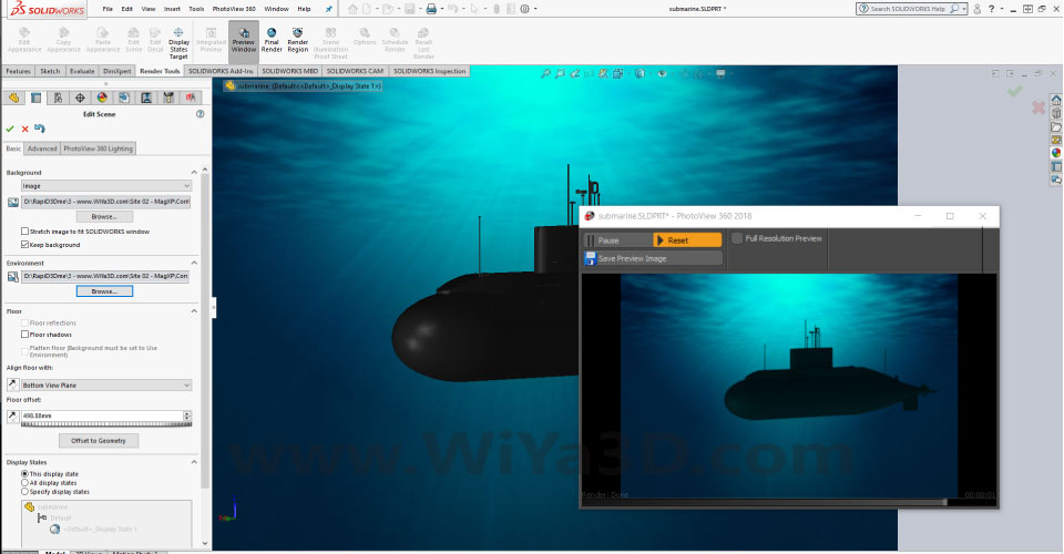 SolidWorks Photoview 360 S024