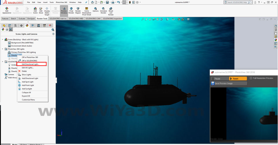 SolidWorks Photoview 360 S026