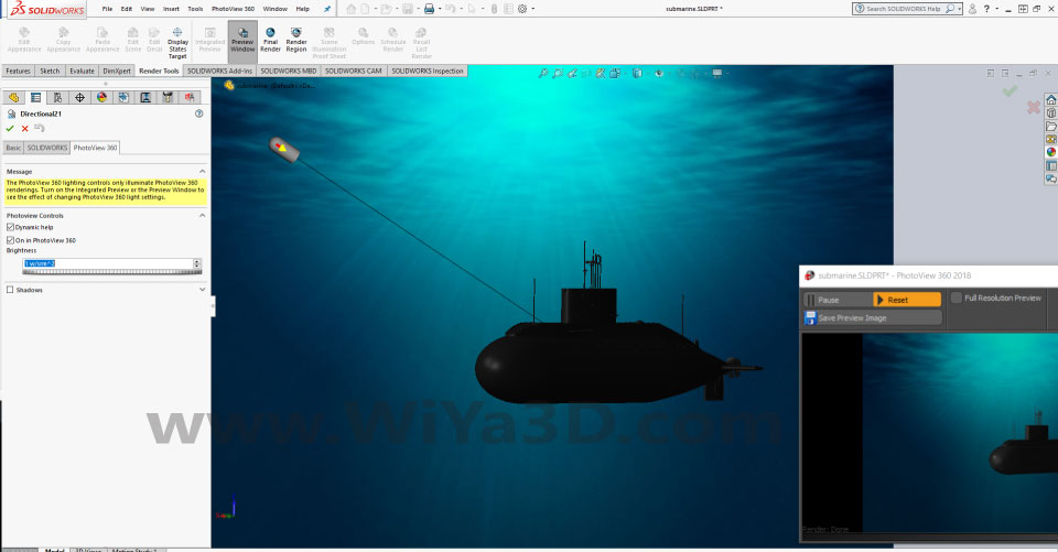 SolidWorks Photoview 360 S027
