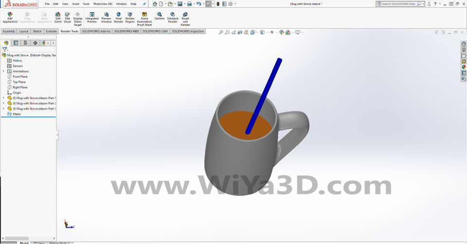 SolidWorks Photoview 360 S031