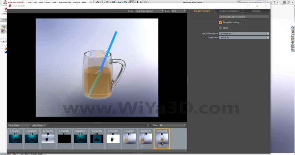 SolidWorks Photoview 360 S036