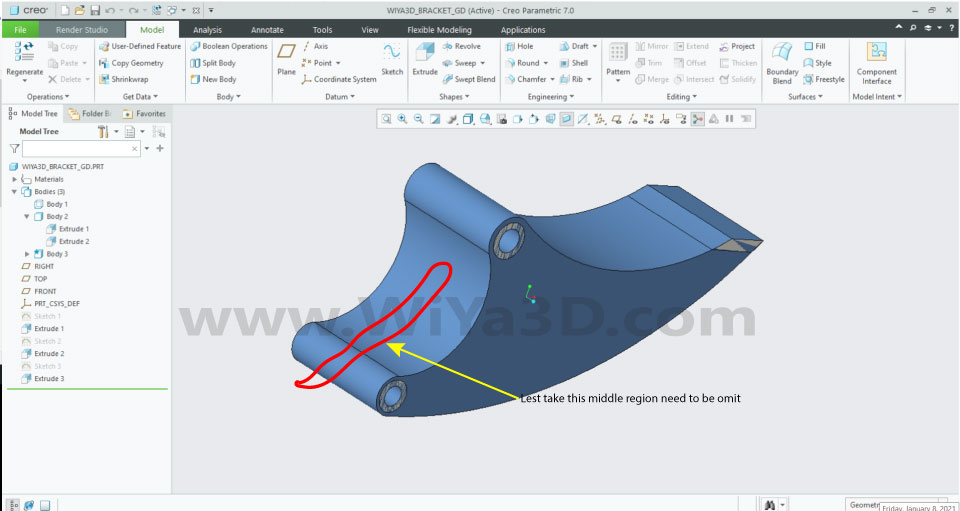 PTC Creo Topology Optimization Generative Design 008