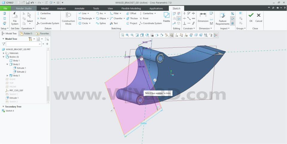 PTC Creo Topology Optimization Generative Design 010