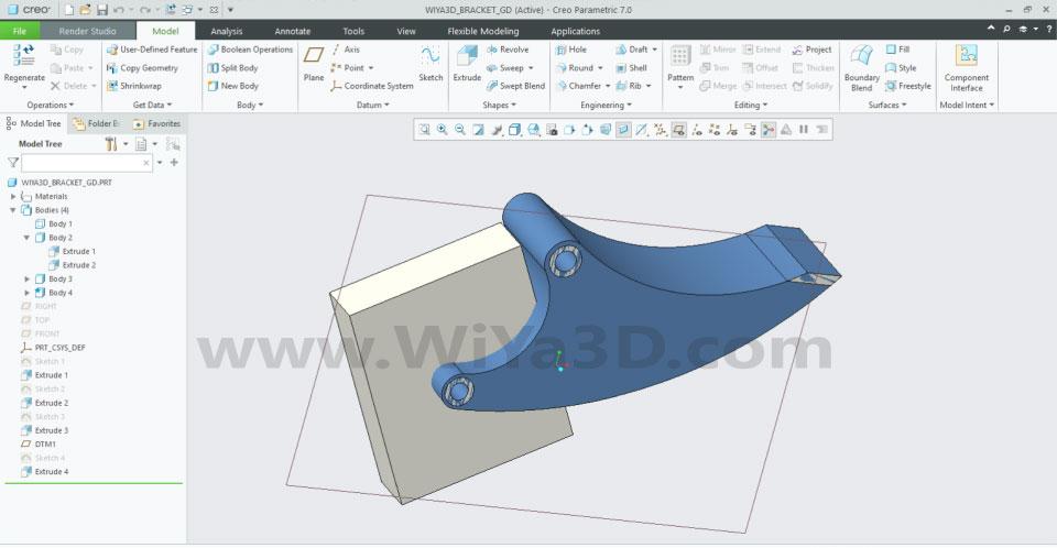 PTC Creo Topology Optimization Generative Design 011