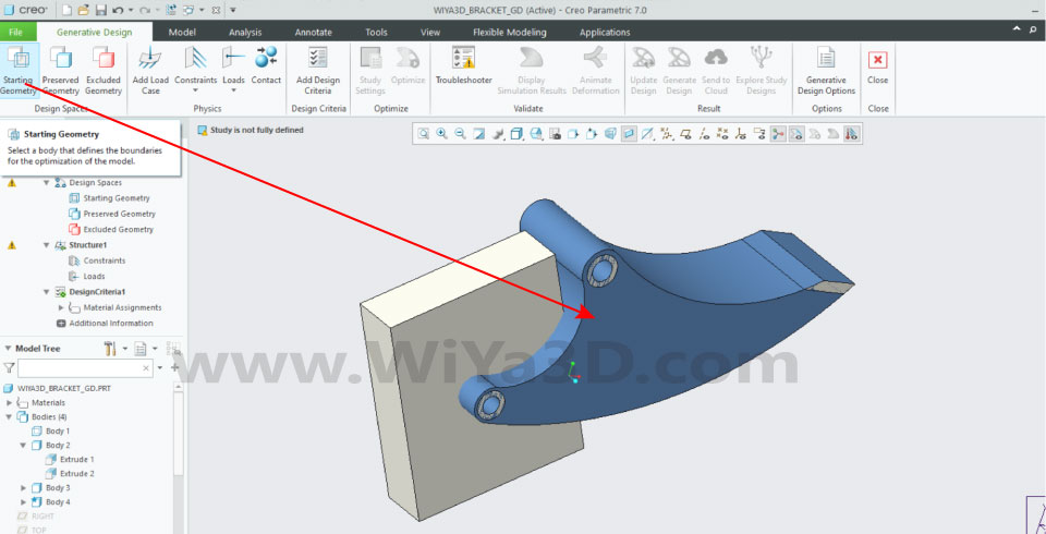 PTC Creo Topology Optimization Generative Design 013