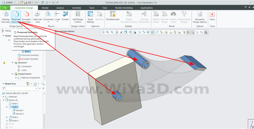 PTC Creo Topology Optimization Generative Design 014