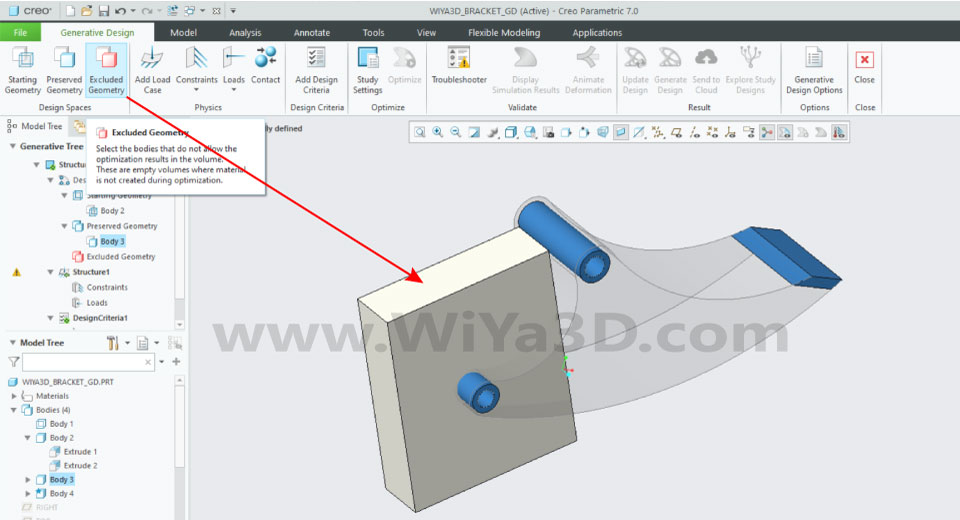 PTC Creo Topology Optimization Generative Design 015