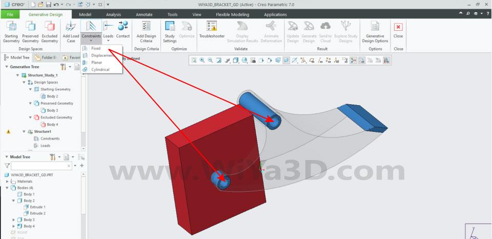 PTC Creo Topology Optimization Generative Design 016