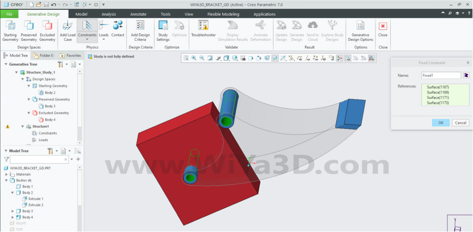 PTC Creo Topology Optimization Generative Design 017