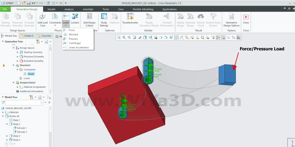 PTC Creo Topology Optimization Generative Design 018