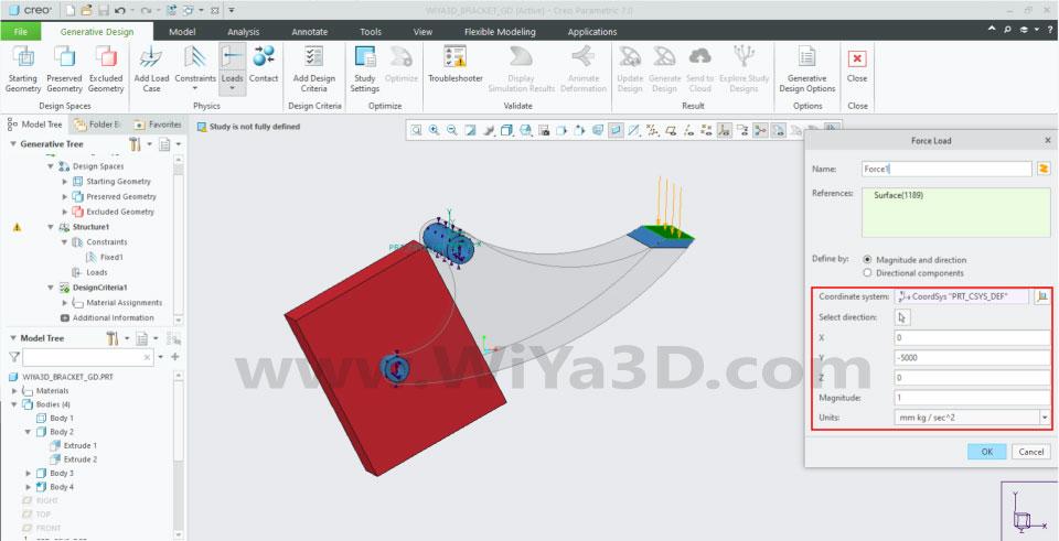 PTC Creo Topology Optimization Generative Design 019