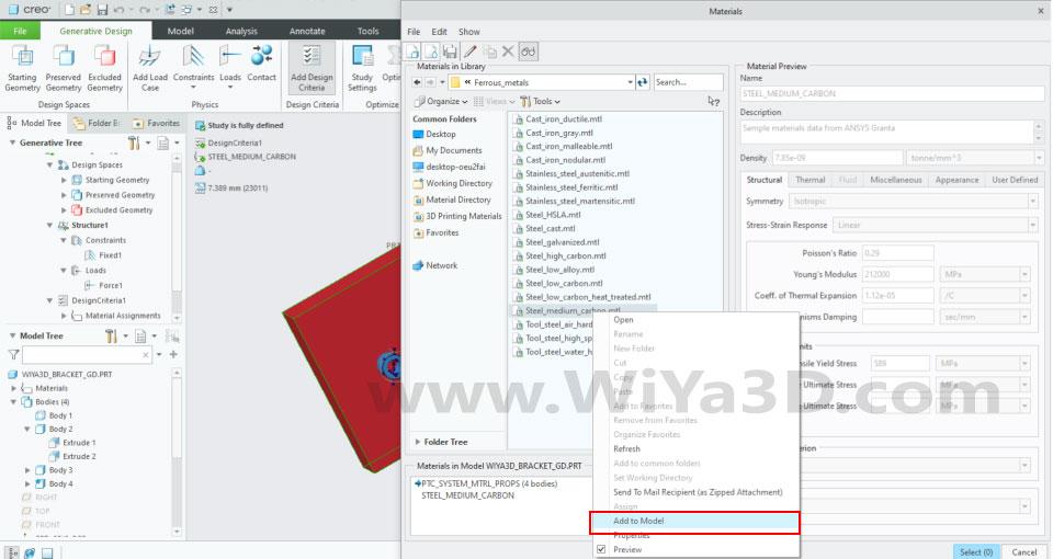PTC Creo Topology Optimization Generative Design 022