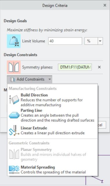 PTC Creo Topology Optimization Generative Design 023