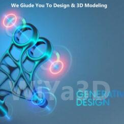 Generative Design vs Toology Optimization 2